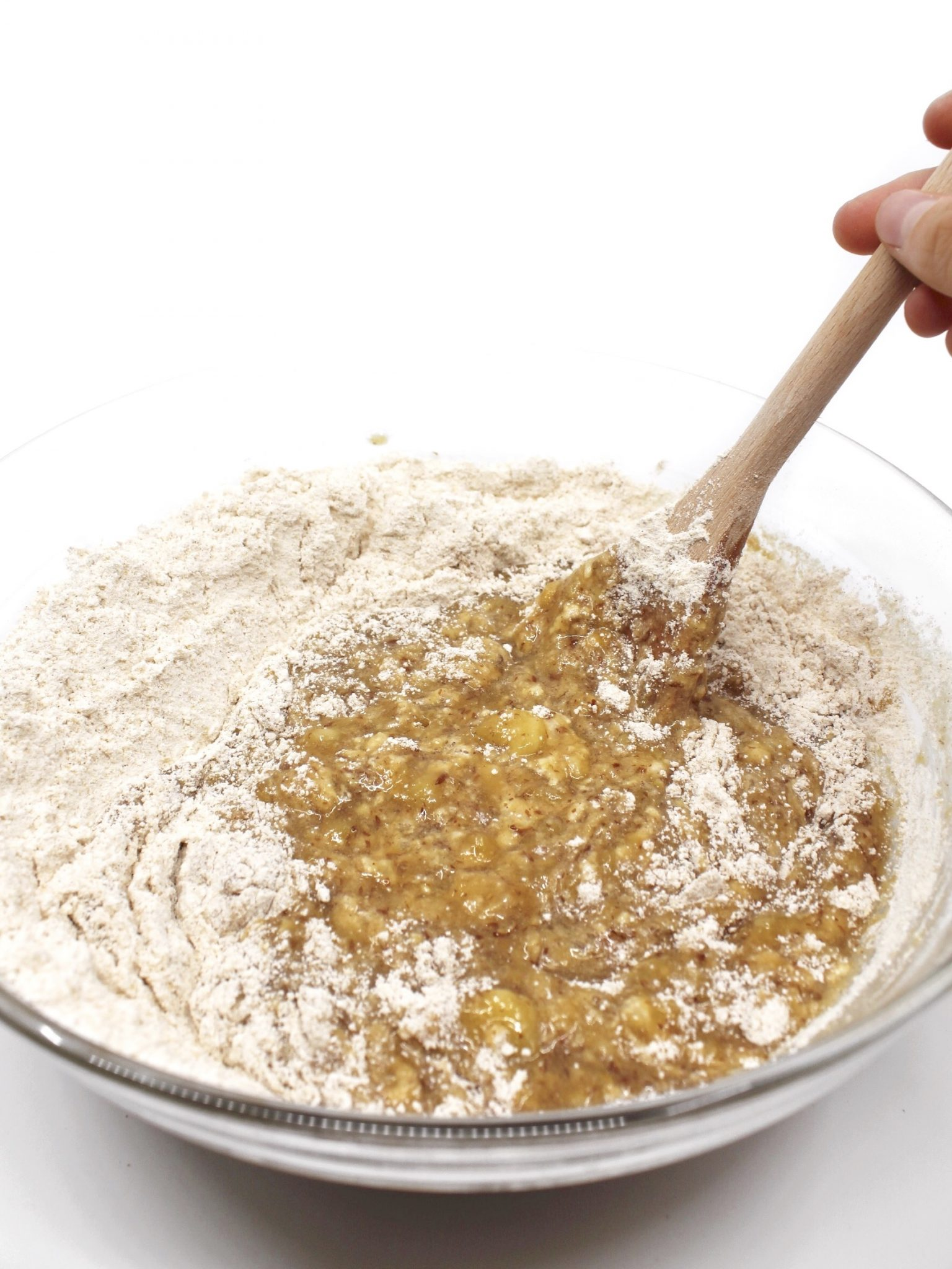 The BEST Vegan Banana Bread Batter