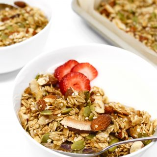 Maple Coconut Granola (V, GF)