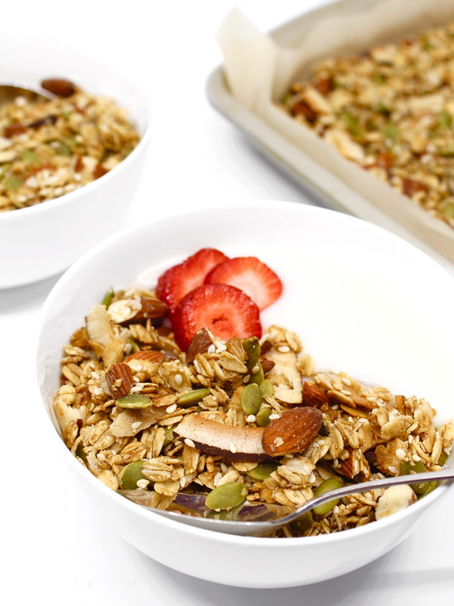 Maple Coconut Granola