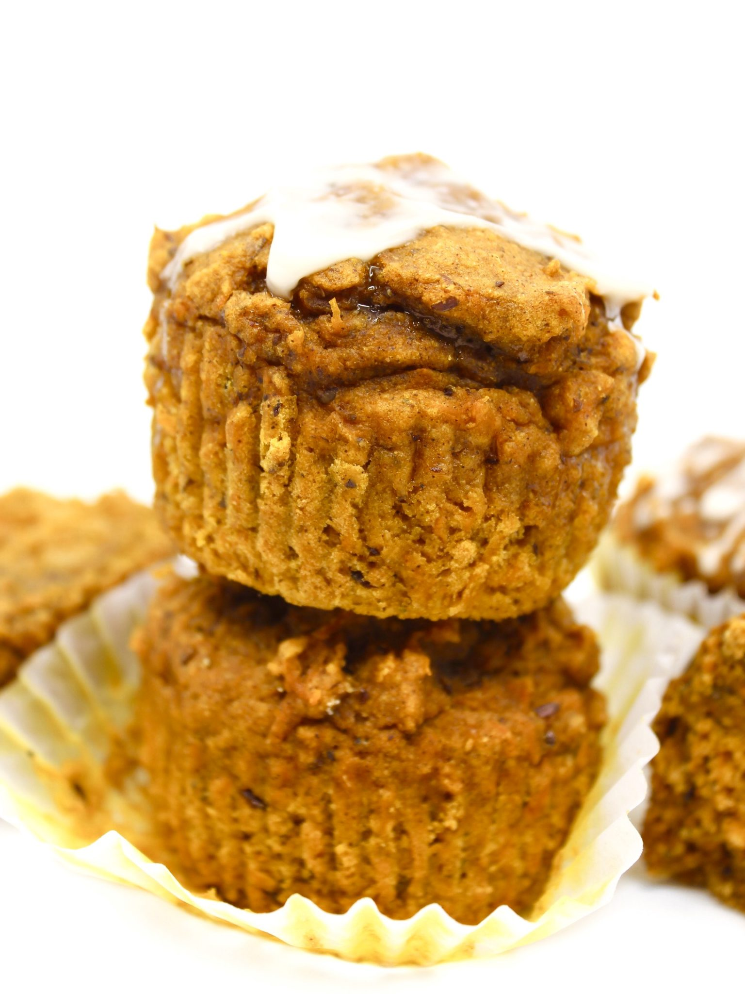 Healthy Pumpkin Carrot Muffins