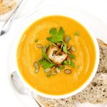 Turmeric Sweet Potato Pumpkin Soup
