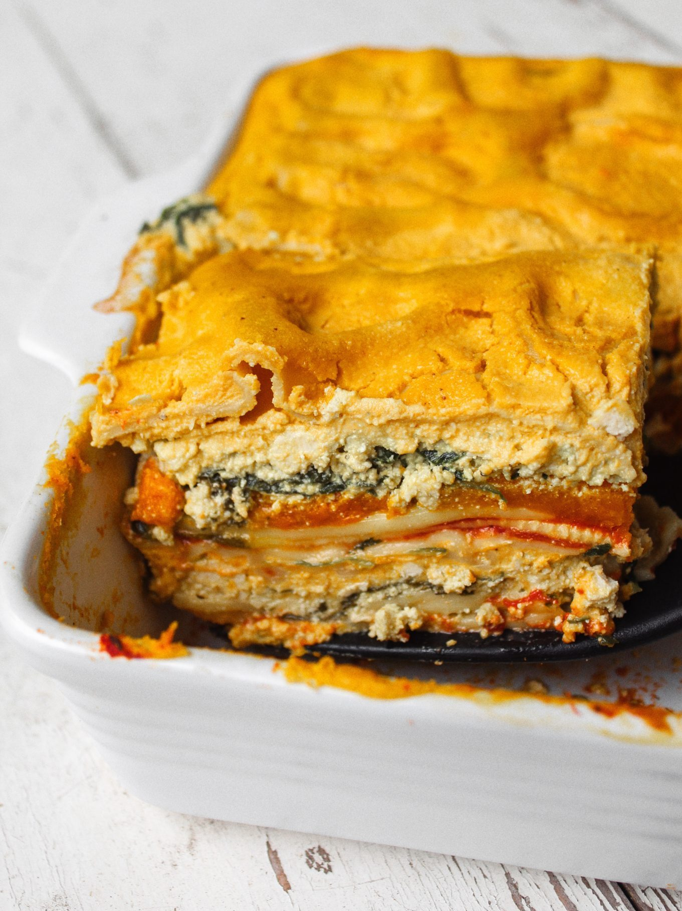 Vegan Autumn Lasagna